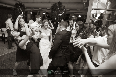 dancing shot