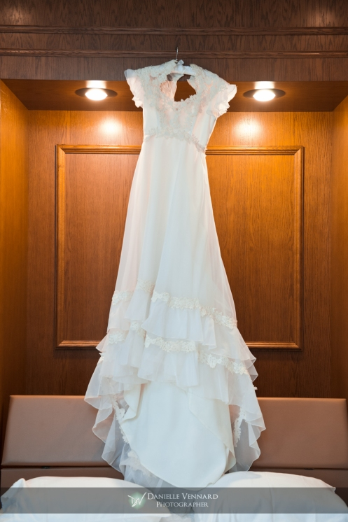 bridal gown circa 1979 Copyright 2012 Danielle Vennard Photographer