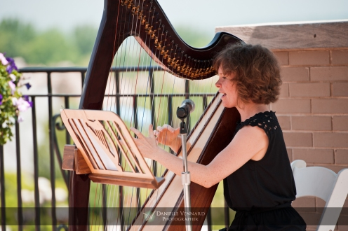 Mary Kate Spring Lee Harpist from Seasons Copyright 2012 Danielle Vennard Photographer