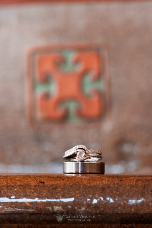 ring  detail shot Copyright 2012 Danielle Vennard Photographer
