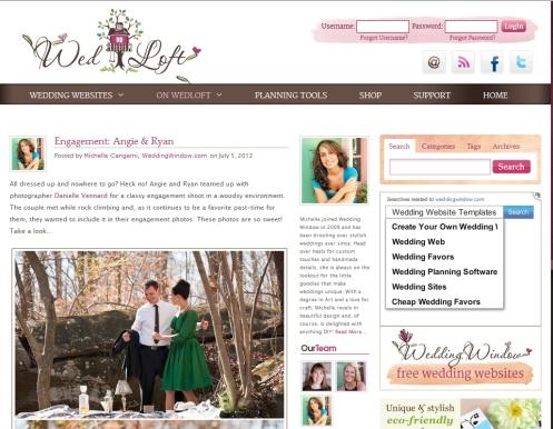 Wed Loft online publication