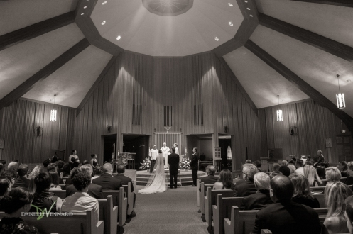 Lady Fatima Catholic Church during wedding ceremony