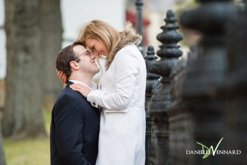 Engagement Photography - Danielle Vennard Photographer - engaged couple in Bethlehem, PA