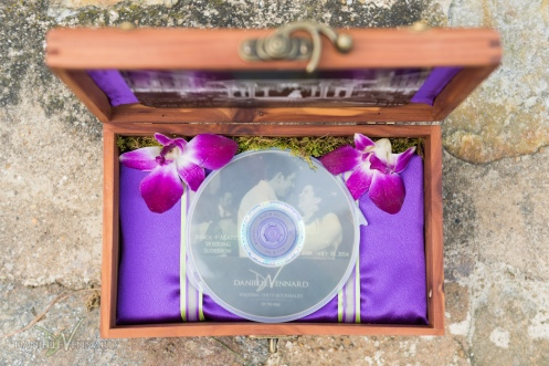 Custom Wedding Heirloom - Keepsake Box created by Danielle Vennard - Wedding Photography by Danielle Vennard Photographer - In Pursuit of Moments Unrehearsed - daniellevennard.com