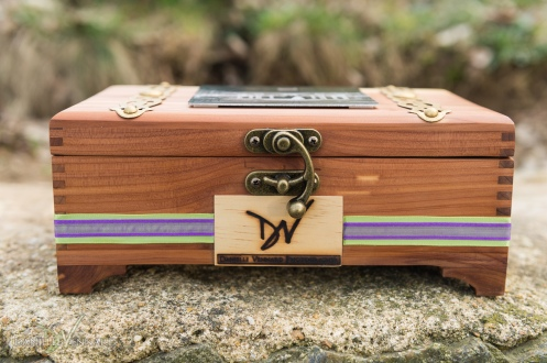 Custom Wedding Heirloom - Keepsake Box created by Danielle Vennard - Wedding Photography by Danielle Vennard Photographer - In Pursuit of Moments Unrehearsed - daniellevennard.com