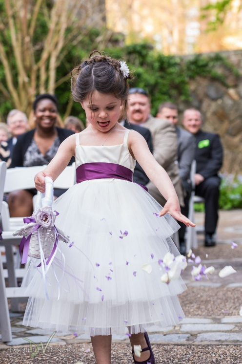 Flower girl dropping petals - Photography by Danielle Vennard Photographer - In Pursuit of Moments Unrehearsed - daniellevennard.com