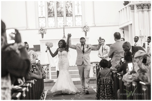 August Summer Wedding Ceremony at Church of the Holy Trinity West Chester, PA_0006 by Danielle Vennard Photographer