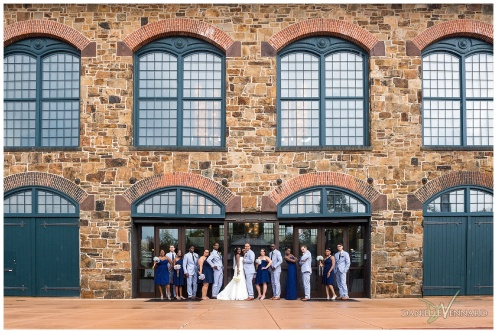 August Summer Wedding Reception at the Phoenixville Foundry Phoenixville, PA by Danielle Vennard Photographer_0003