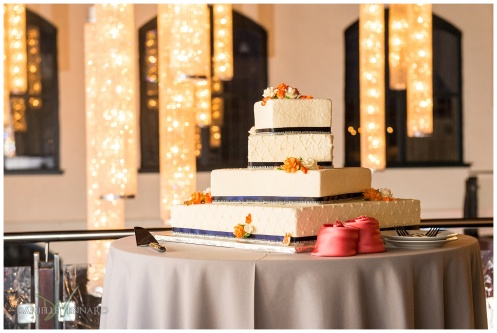 August Summer Wedding Reception at the Phoenixville Foundry Phoenixville, PA by Danielle Vennard Photographer_0010 - Master Baker Wedding Cake