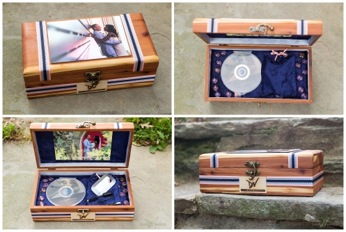 Wedding Heirloom Wooden Keepsake Box by Danielle Vennard Photographer_0002