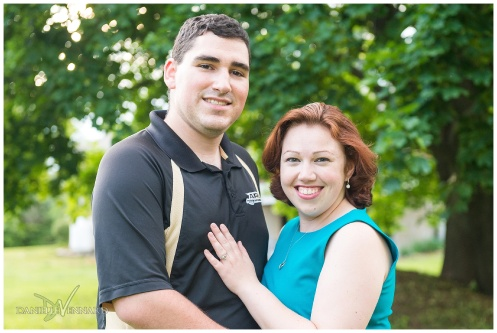 Mini Couples Portrait Session of Sam and Matt in Glen Mills, PA by Danielle Vennard Photographer_0001