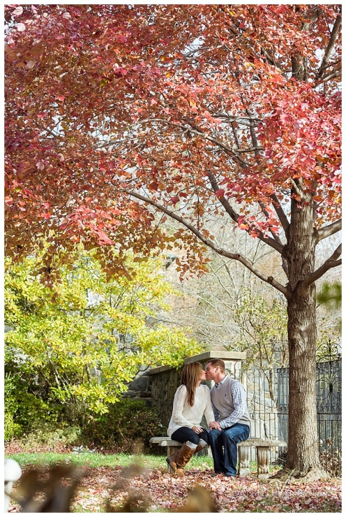 Fall Engagement Session at Gibraltar Gardens Wilmington Delaware_0001