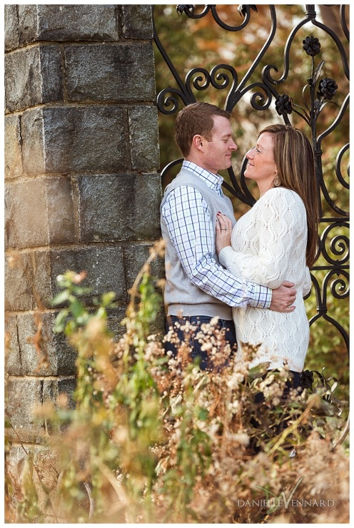 Fall Engagement Session at Gibraltar Gardens Wilmington Delaware_0007
